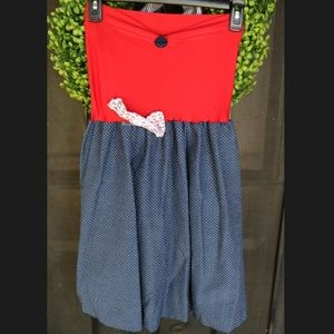 Dresses & Skirts - Nautical costume dress size S